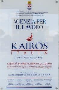kairos Italia agenzia per il lavoro